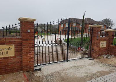 Compton estate gate