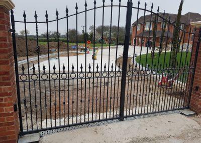 Compton estate gates