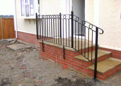 Windsor handrail