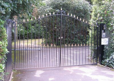 Bespoke Bell Top Victoria Gates (Automated)