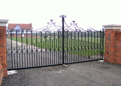Bespoke estate gates