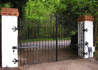 Bespoke Flat Top Entrance Pair