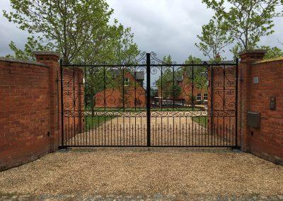 Bespoke Ornate entrance gates