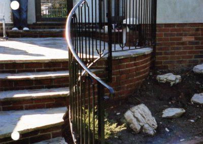 Bespoke Shaped Handrail