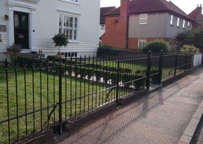 Bespoke railing and ped gate 03