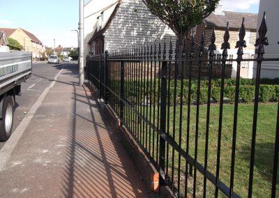 Bespoke railing and ped gate