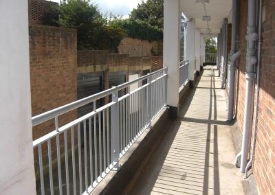 Bespoke balcony railing