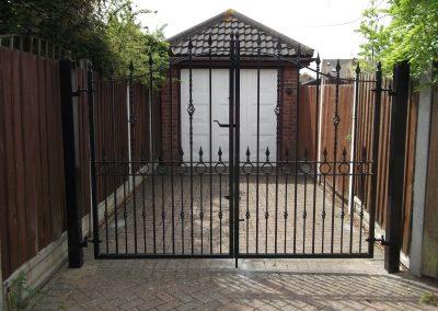Compton entrance gates 1