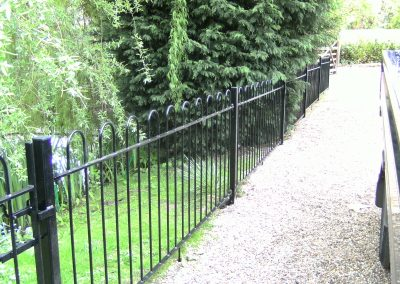 Hairpin railing