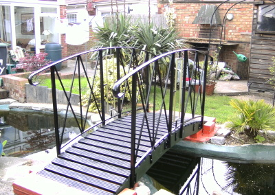 Ornate bridge