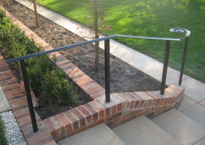 No infill handrails