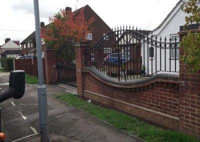 Shaped Ashworth railings