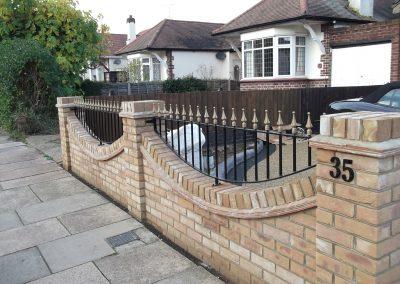 Shaped Victoria railing (2)