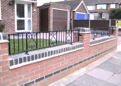 Southgate/malwood railing