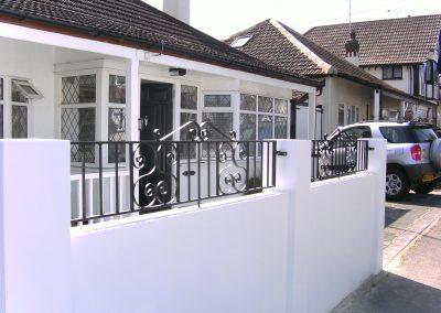 Southgate wall railing