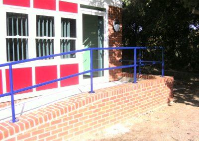 Tubular handrail