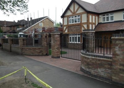 Victoria Gates and Railings with curved panels