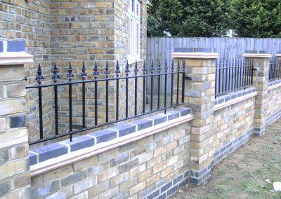 Victoria wall railing