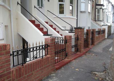 Windsor railing & pedestrian gates 1