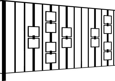 Evesham balcony