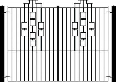 Evesham entrance gates