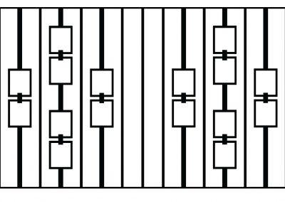 Evesham railing