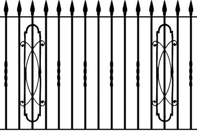 Cheltenham railing
