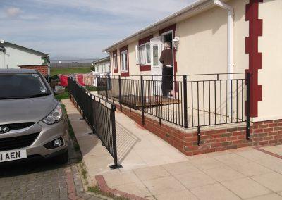 B4 Balustrade & ramp 1
