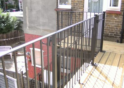 Balcony and staircase