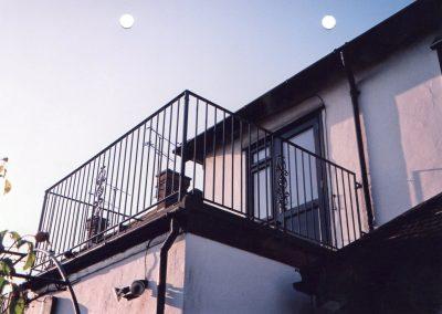 Balcony with Kingston Motif