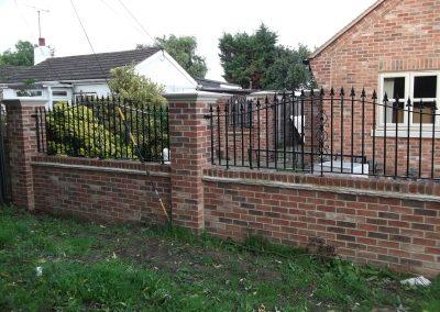 Bell Top Kingston gates & railings 2