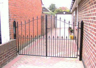 Victoria bell top entrance gates