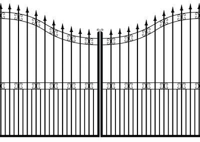 Berkshire estate gates
