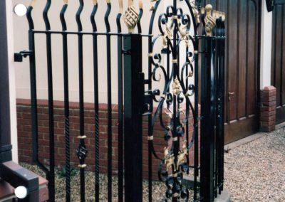 Bespoke Entrance Gate and Railing