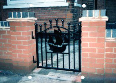 Bespoke Pedestrian Gate 2