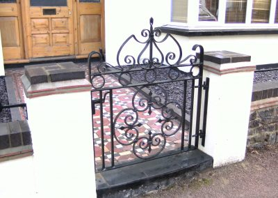 Bespoke pedestrian gate heavy weight
