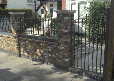 Bespoke gate and railing