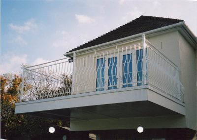 Bow Fronted Balcony