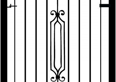 Hereford pedestrian gate