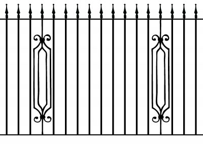 Hereford railing
