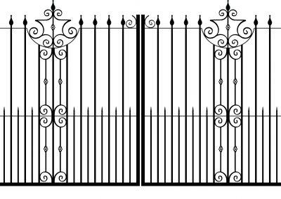 Cheshire estate gates