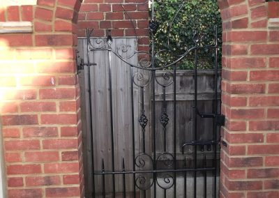 Cheshire side gate