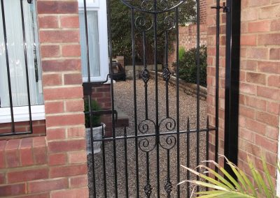 Cheshire side entrance gate 03