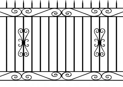 Banbury railing