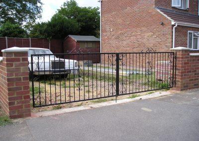 Ross driveway gates