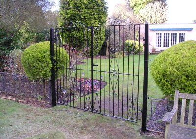 Ross flat top entrance gates