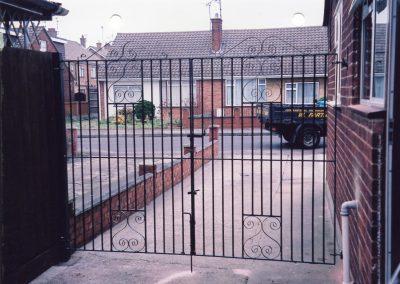 Flat Top South Entrance Gates