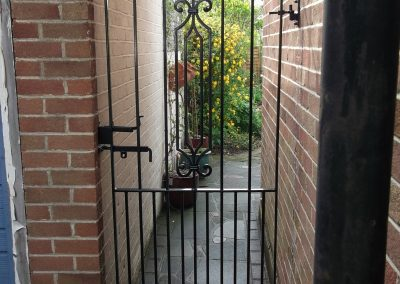 Hereford side gate