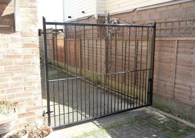 Herford side entrance gate