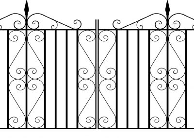 Malwood driveway gates